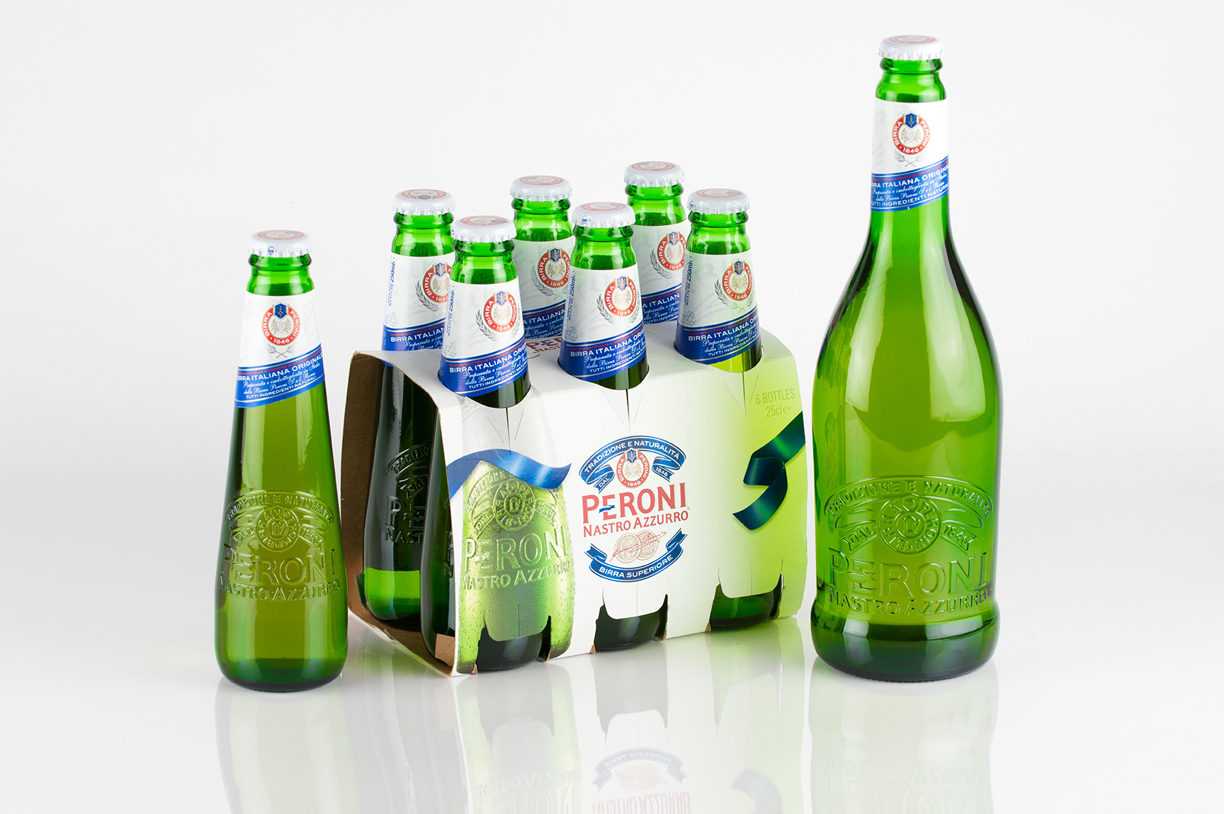 Link Bottle Prototypes - Peroni Project
